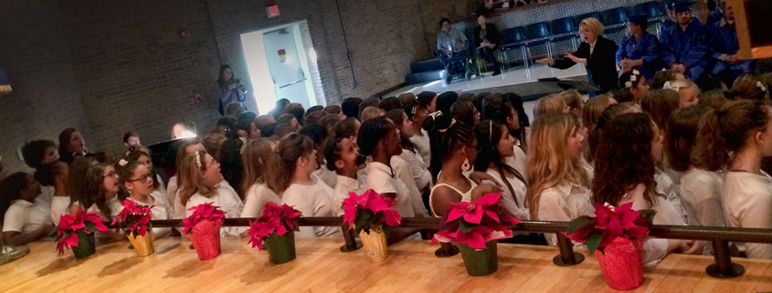 Waynesboro Public School's Signature Singers Inspire and Delight at WWRC Graduation