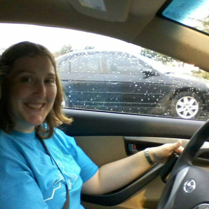Jennifer Britts driving